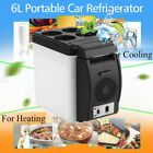 12V 6L Car Mini Fridge Portable Thermoelectric Cooler Warmer Travel X@
