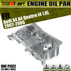 Brand New Engine Oil Pan for Audi A4 A4 Quattro 2002-2006 Aluminum 06B103601AE