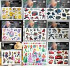 Cartoon Kids Temporary Tattoo Sticker Sheet Party Favours Lolly Loot Bag Tattoos