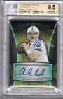 2013 Bowman Sterling ANDREW LUCK Auto Signature GOLD Gem Mint BGS 9.5 10 #16 25