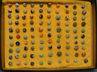 Vintage Alley  marbles  Over 100   PENNSBORO 1932-1936    Set A10a
