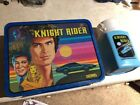 Vintage Lunch Box 1982 1983 Knight Rider Metal Lunchbox WITH Thermos
