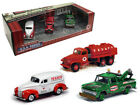 TEXACO 1940 FORD 1950 GMC 1965 CHEVY MINIATURE SET - 2017 - #6 in the USA Series