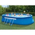 Intex 20ft X 12ft X 48in Oval Frame Above Ground Swimming Pool Set