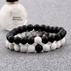 2Pcs Set Couples Distance Bracelet Classic Natural Stone Bracelets Best Friend