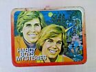 Hardy Boys Mysteries 1977 Vintage Metal Lunch Box With Thermos
