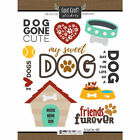 SCRAPBOOK CUSTOMS PETS COLLECTION MY SWEET DOG CARDSTOCK STICKERS