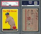 1958 Topps Pee Wee Reese #375 PSA 7 - Dodgers (nice centering)