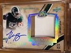 LE'VEON BELL 2013 UD Exquisite Auto Patch 3CLR 20 Gold Jersey SP Steelers RB