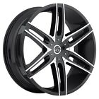 20x9 Inch Black VCT V8 Wheels 6x135 6x5.5 +30 Rims Fits Ford Expeditiion (1)