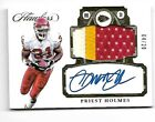 2017 Flawless Priest Holmes 3 color Patch auto #04 20! Chiefs!