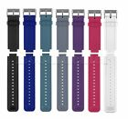 Silicone Watch Band Strap For Garmin Vivoactive Smartwatch w/Tools Replacement
