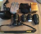 Nikon D60 VR Digital DSLR Camera Bundle Case  VR Lens