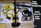 White's Used Surf PI Dual Field Metal Detector with 12
