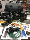 Canon EOS 40D 101MP Digital SLR Camera Black with various lenses