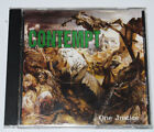 Contempt One Justice CD March Through Records sXe hardcore ALF Rochester HC