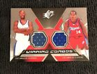 2005-06 Spx Winning Combos SAM CASSELL SHAUN LIVINGSTON DUAL GU JERSEY WC-CL
