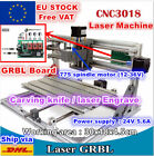 【Free VAT】3 Axis 3018 DIY Mini Laser Machine Engrave Milling Router GRBL Control