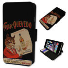 RETRO DRUNK CAT POSTER FLIP PHONE CASE COVER WALLET CARD HOLDER 2018