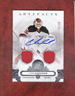 CORY SCHNEIDER 2017 18 ARTIFACTS SP 35 AUTO JERSEY SILVER # 19 NEW JERSEY DEVILS