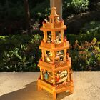 4 Tier Nativity Colorful German Wood Christmas Pyramid ONLY see description