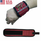 Magnetic Wristband with Strong Magnets for Holding Screws, Nails, Drill Bits US