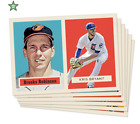 1957 TOPPS FOOTBALL DESIGN - PAST & PRESENT STARS - 2016 TBT SET 13 - 769 PACKS