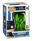 2018 ECCC Funko Pop! Exclusive Heroes: Emerald Chrome Batman LE 1500 IN HAND!!
