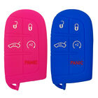 Key Fob Cover Jacket For Jeep Grand Cherokee Dodge Charger Journey Ram Chrysler