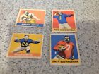 1949 Leaf Football 4 Card Lot