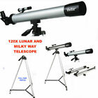 HD REFRACTOR TELESCOPE 75X 150X WITH FULL SIZE TRIPOD FREE FAST SHIPPING