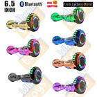 Wheeltoys Bluetooth Hoverboard 65 Flash Wheel Self Balance Electric Scooter