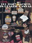 Leisure Arts Leaflet 1572 OLD TIMEY MAGNETS In Plastic Canvas Charming