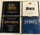 LOT of 5 HOWARD SHORE FYC CDs Hobbit Lord of the Rings Departed
