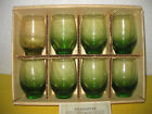 Set of 8 Vintage Tempo Glassware by Libby Juice Glasses in original box