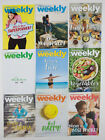 LOT OF 9 WEIGHT WATCHERS WEEKLY GUIDES JUNE JULY AUGUST SEPT 2017 WITH RECIPES