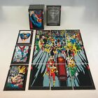 DOOMSDAY THE DEATH OF SUPERMAN Skybox 1992 Complete Card Set + FUNERALS
