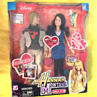 2007 Play Along Disney Hannah Montana Target Exclusive Miley and Jake Dolls NEW