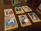 SET LOT OF 132 1987 TOPPS TRADED BASEBALL CARDS CONE WILLIAMS BURKS McGRIFF RC