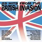 25 Hits from the British Invasion by Various Artists CD Jul 2002