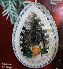 Vintage LeeWards Winter Wonderland Boutique Christmas Ornament Kit