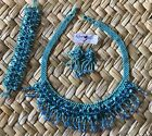 Handcrafted Neccklace Set from chiapas mex