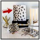 1 NIP KATE SPADE Leopard Semi Concealed Spiral Notebook Journal 112 Lined Pages