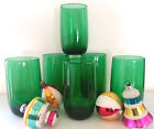 Forest Green Roly Poly Tumblers 8oz S/6
