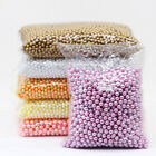 4 6 8 10mm assorted Round Pearl loose Acrylic beads crafts jewelry making