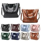 Celebrity Large Womens Ladies PU Leather Style Tote Shoulder Bags Handbag New