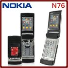 ORIGINAL Nokia N76 Piano Black Gray 100 UNLOCKED N 76 Smartphone Warranty Rare