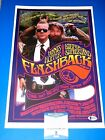 KIEFER SUTHERLAND FLASHBACK SIGNED 11X17 MINI POSTER beckett certified LOST BOYS