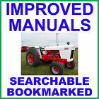 Case David Brown 1390 1394 Tractor SERVICE Shop REPAIR MANUAL - SEARCHABLE on CD
