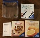 Weight Watchers Momentum 2010 Book LOT Complete Food Companion Fast Fixes Dining
